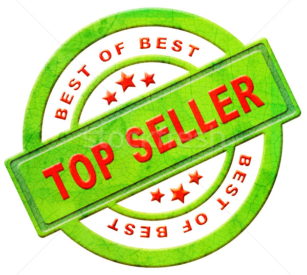 top seller icon Stock photo © kikkerdirk