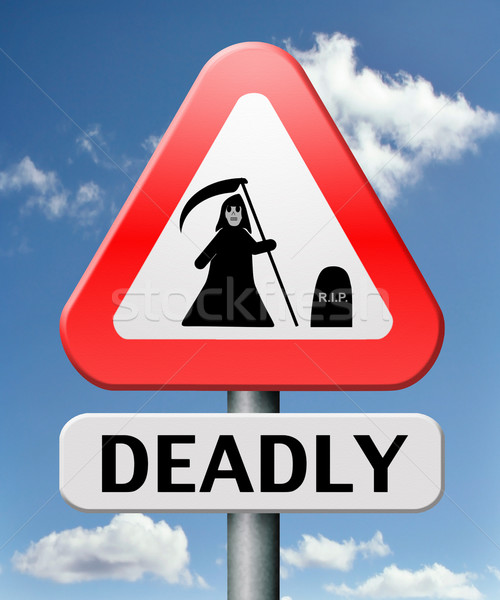 deadly dangerous Stock photo © kikkerdirk