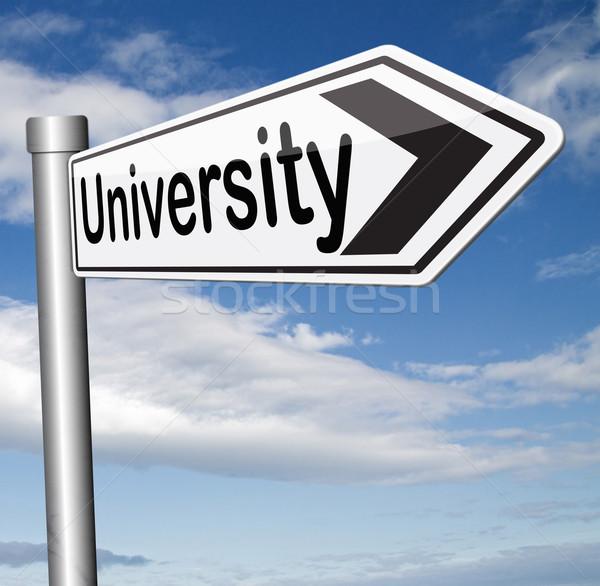 university Stock photo © kikkerdirk
