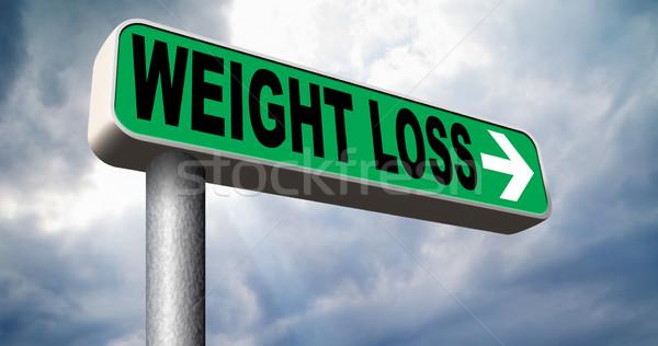 Stock photo: weight loss