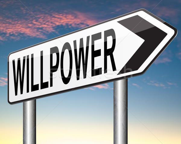 will power Stock photo © kikkerdirk