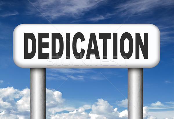 Weihung Motivierung Haltung motivieren Job Schreiben Stock foto © kikkerdirk