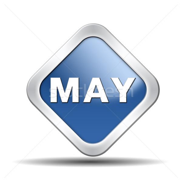 Stock photo: may icon