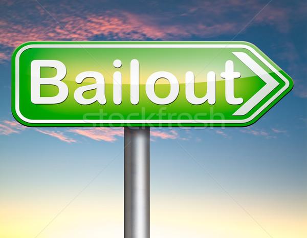 Faillissement economisch crisis financiële recessie business Stockfoto © kikkerdirk