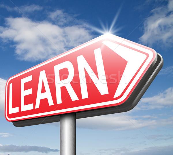 learn online Stock photo © kikkerdirk