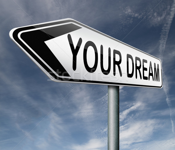 live your dream Stock photo © kikkerdirk