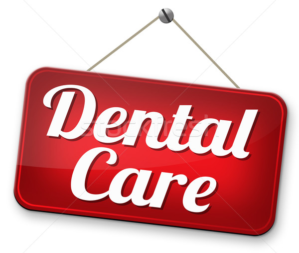 Fogápolás egészségbiztosítás fogak műtét kezelés klinika Stock fotó © kikkerdirk