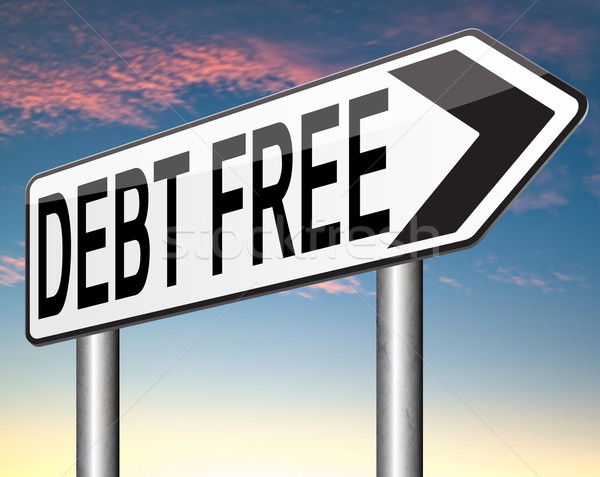 debt free Stock photo © kikkerdirk