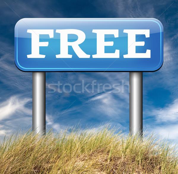 свободный продукт образец нет скрытый бесплатно Сток-фото © kikkerdirk