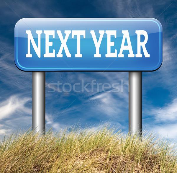 next year Stock photo © kikkerdirk