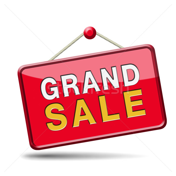 grand sale Stock photo © kikkerdirk