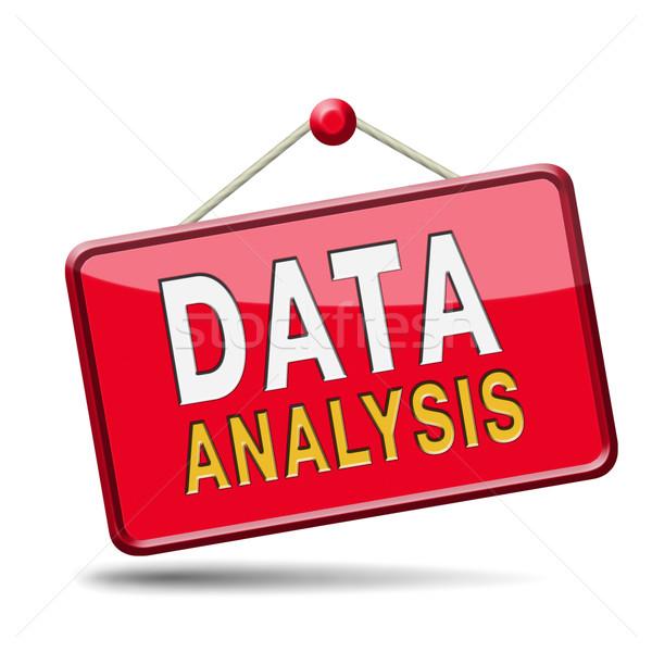 analysis Stock photo © kikkerdirk