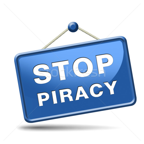 stop piracy Stock photo © kikkerdirk
