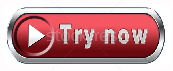 try now Stock photo © kikkerdirk