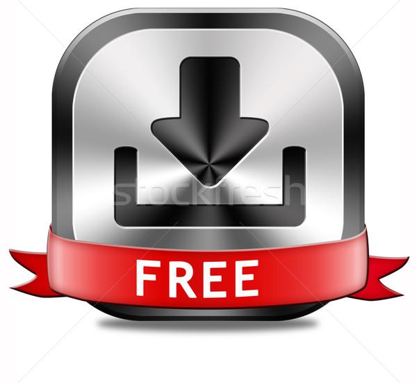 Free download button Stock photo © kikkerdirk