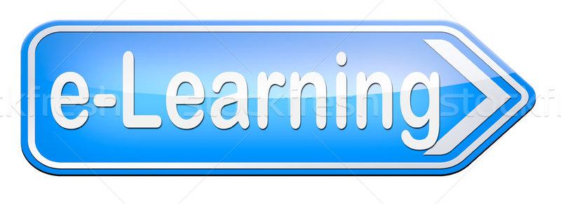 を 教育 インターネット 学習 オープン ストックフォト © kikkerdirk
