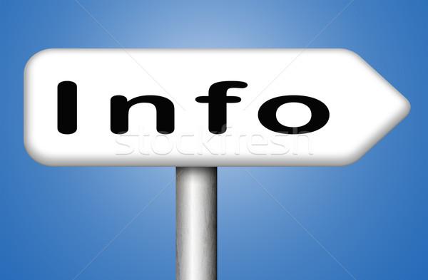 information Stock photo © kikkerdirk