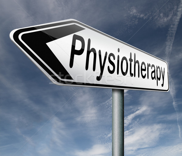 physiotherapy Stock photo © kikkerdirk
