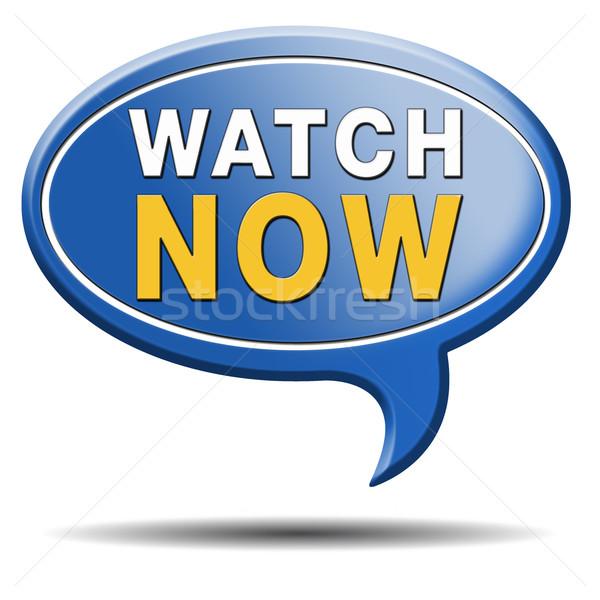 watch now Stock photo © kikkerdirk