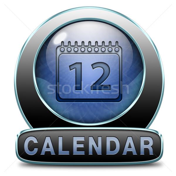calendar Stock photo © kikkerdirk