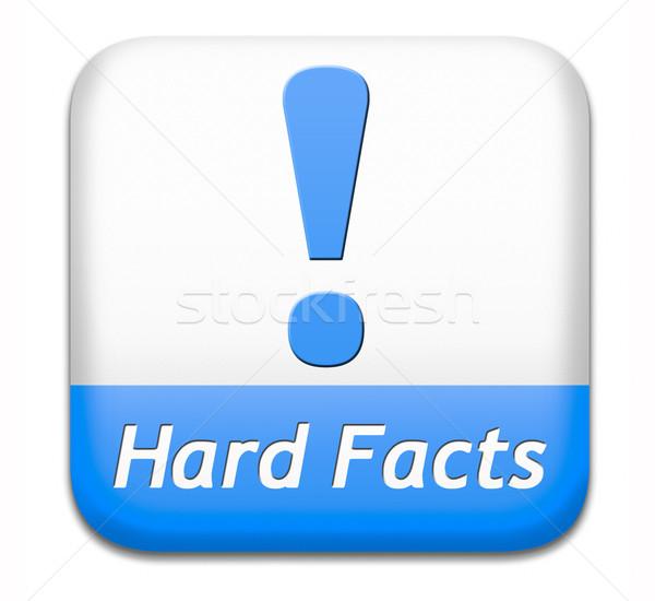 hard facts scientific proof Stock photo © kikkerdirk