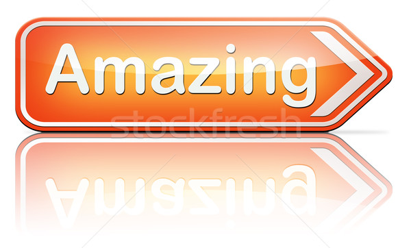 Wow amazong Stock photo © kikkerdirk