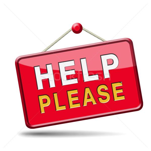 help please Stock photo © kikkerdirk