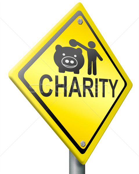 Stock photo: charity fundraising