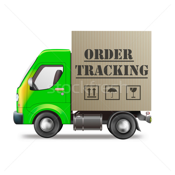 online order tracking Stock photo © kikkerdirk