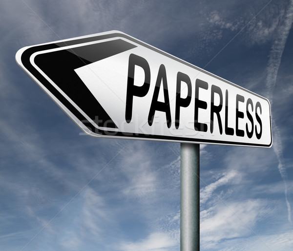 paperless Stock photo © kikkerdirk
