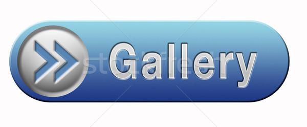 Galeri ikon duvar resim görüntü sanat Stok fotoğraf © kikkerdirk