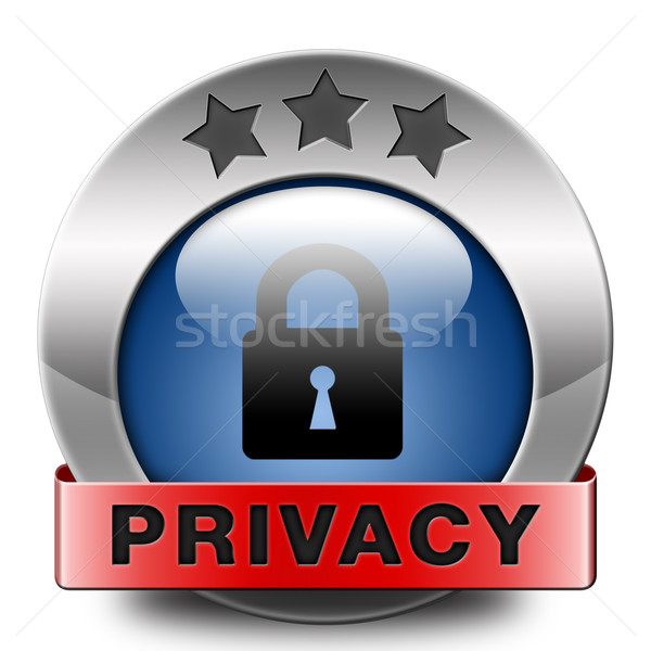 privacy Stock photo © kikkerdirk