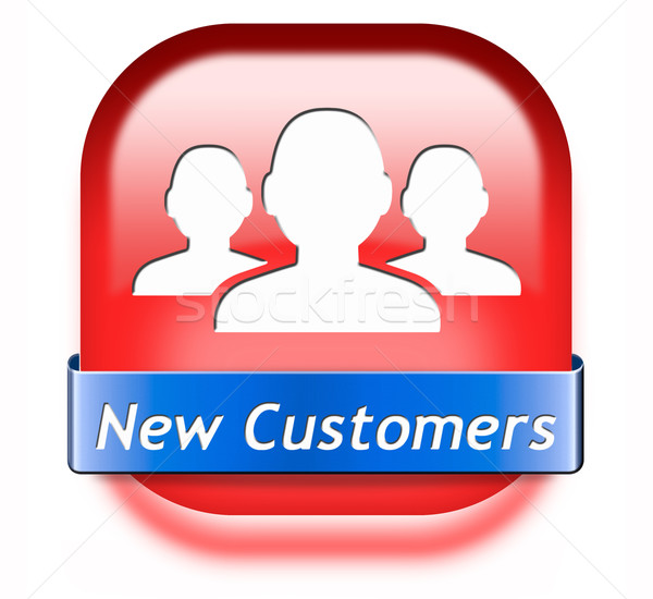 new customers Stock photo © kikkerdirk