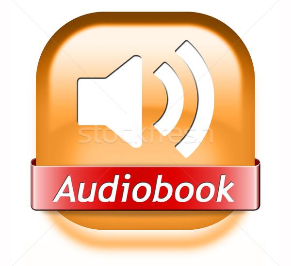 audiobook button Stock photo © kikkerdirk