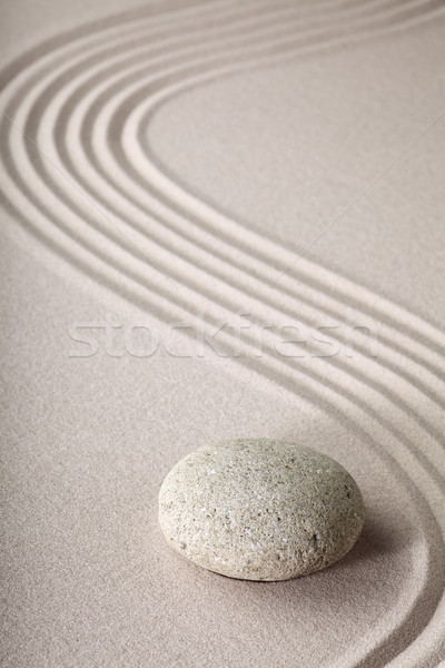 zen garden Stock photo © kikkerdirk