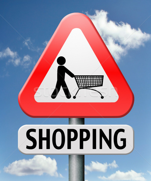 Winkelen online winkelen internet web winkel online Stockfoto © kikkerdirk