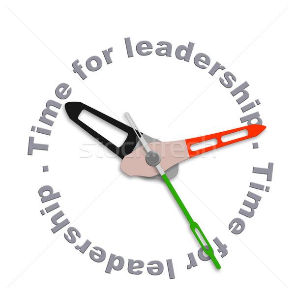 Stok fotoğraf: Zaman · iş · lider · pazar · takım · lideri
