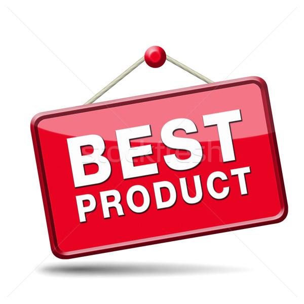 Legjobb ár legjobb termék felső minőség garantált Stock fotó © kikkerdirk