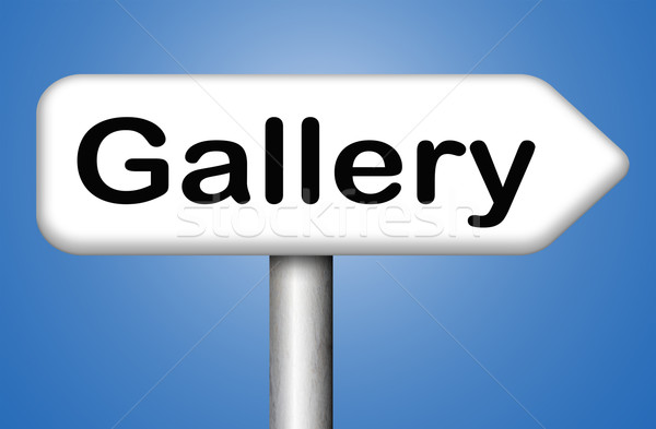 Foto galería foto pared imagen arte Foto stock © kikkerdirk