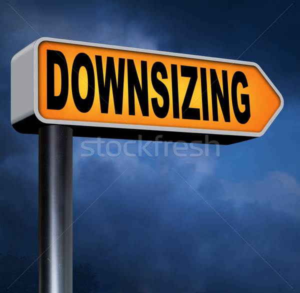 downsizing Stock photo © kikkerdirk