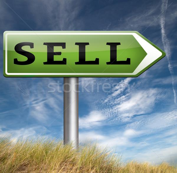 Elad online stock termékek internet webshop Stock fotó © kikkerdirk