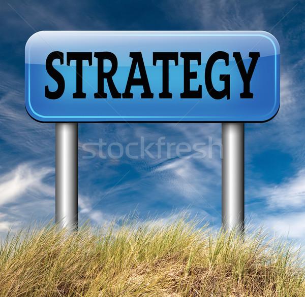 Strategie business marketing gebruikt methode markt Stockfoto © kikkerdirk