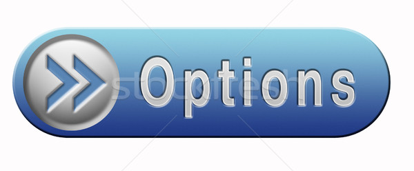 options button Stock photo © kikkerdirk