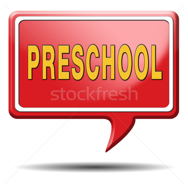 preschool Stock photo © kikkerdirk