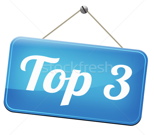 top 3 charts Stock photo © kikkerdirk