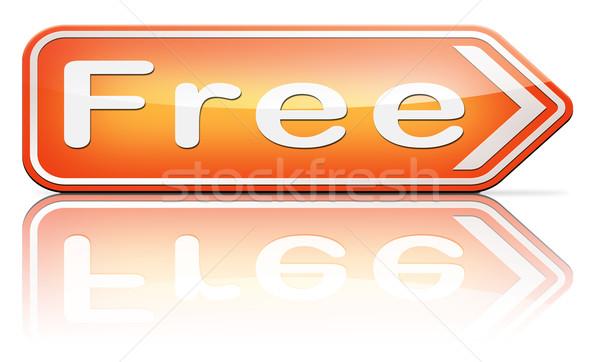 free of charge Stock photo © kikkerdirk