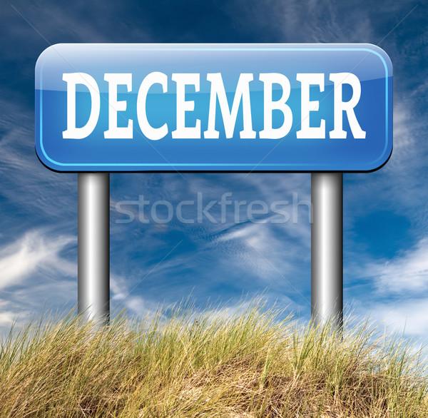 Foto d'archivio: Dicembre · ultimo · mese · anno · stagione · invernale · evento