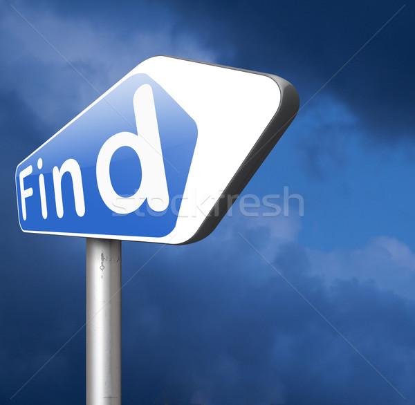 find answers Stock photo © kikkerdirk