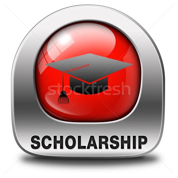 Borsa di studio Università college istruzione studio applicazione Foto d'archivio © kikkerdirk