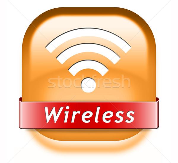 беспроводных связи wi-fi доступ свободный интернет Сток-фото © kikkerdirk